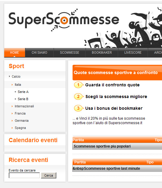 superscommesse home